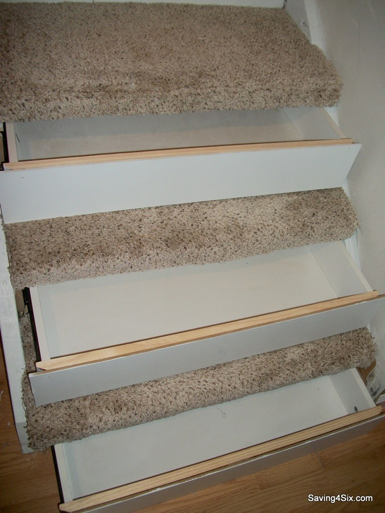 20 Drawers in the steps via simphome