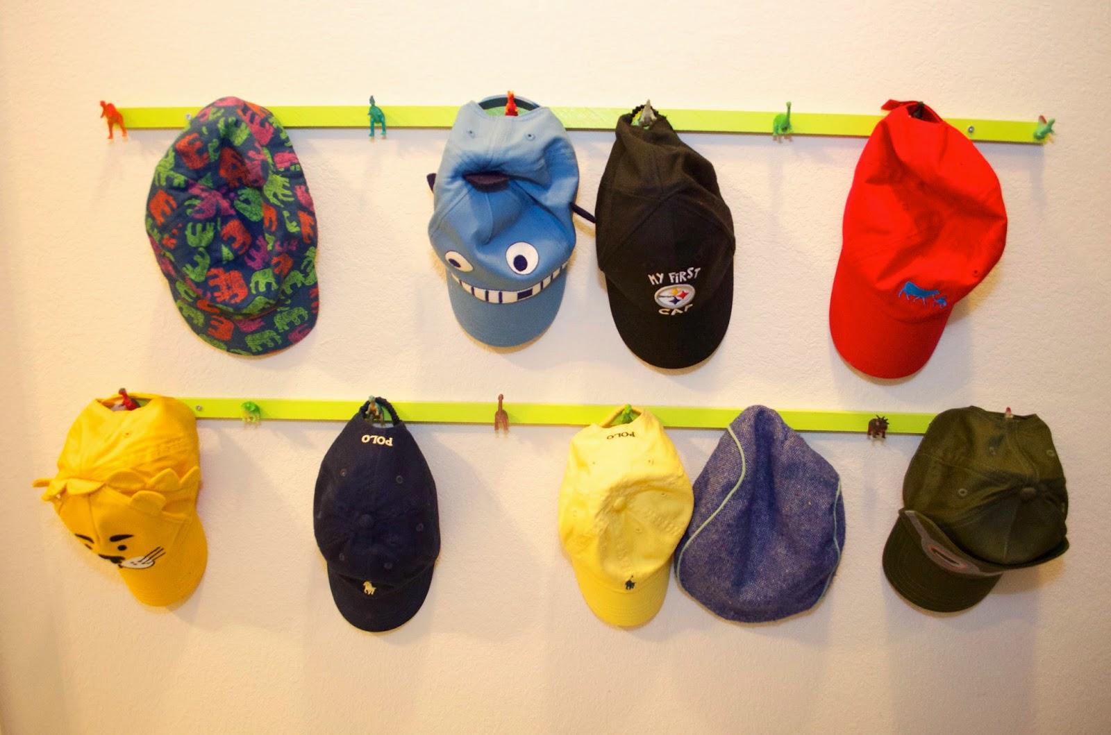 4 Colorful Dinosaur Hat Rack Simphome com