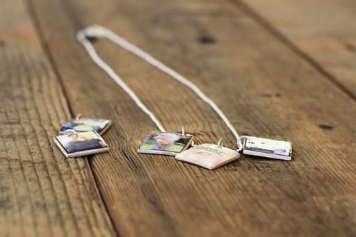 5 Resin Miniature Photo Charms Simphome com