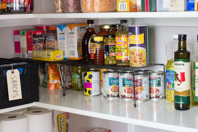 7 Get More Storage Space with Cabinet Organizer Shelf
