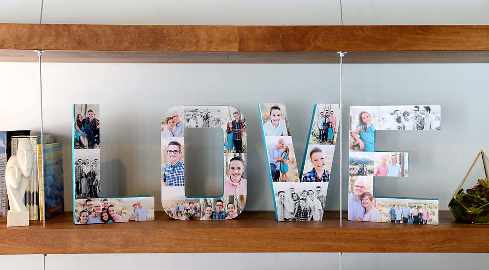 7 Letters Photo Collage Simphome com