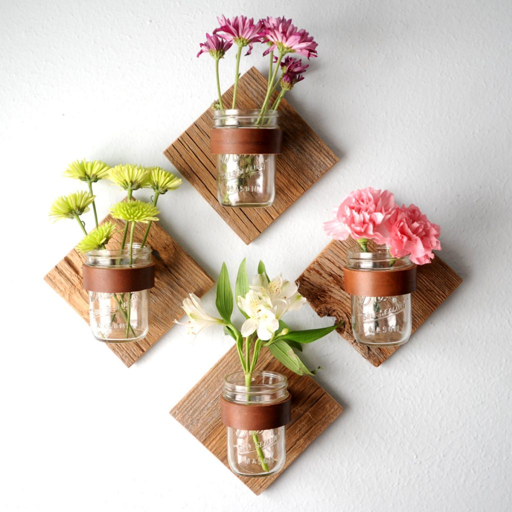 8 Flower on the wall decoration simphome com
