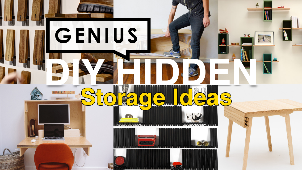 20 Smart Diy Hidden Storage Ideas That Keep Your Clutter In Check