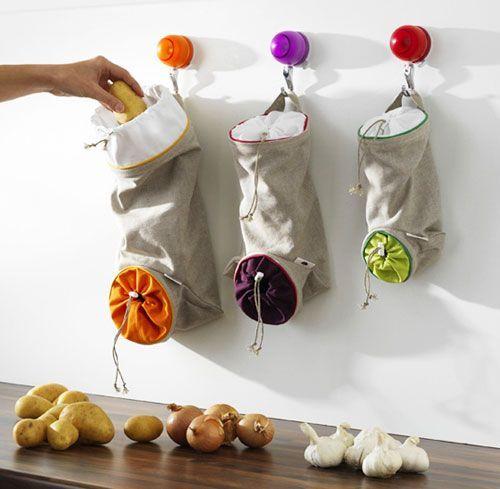 Hanging sacks for herbs Simphome com 8