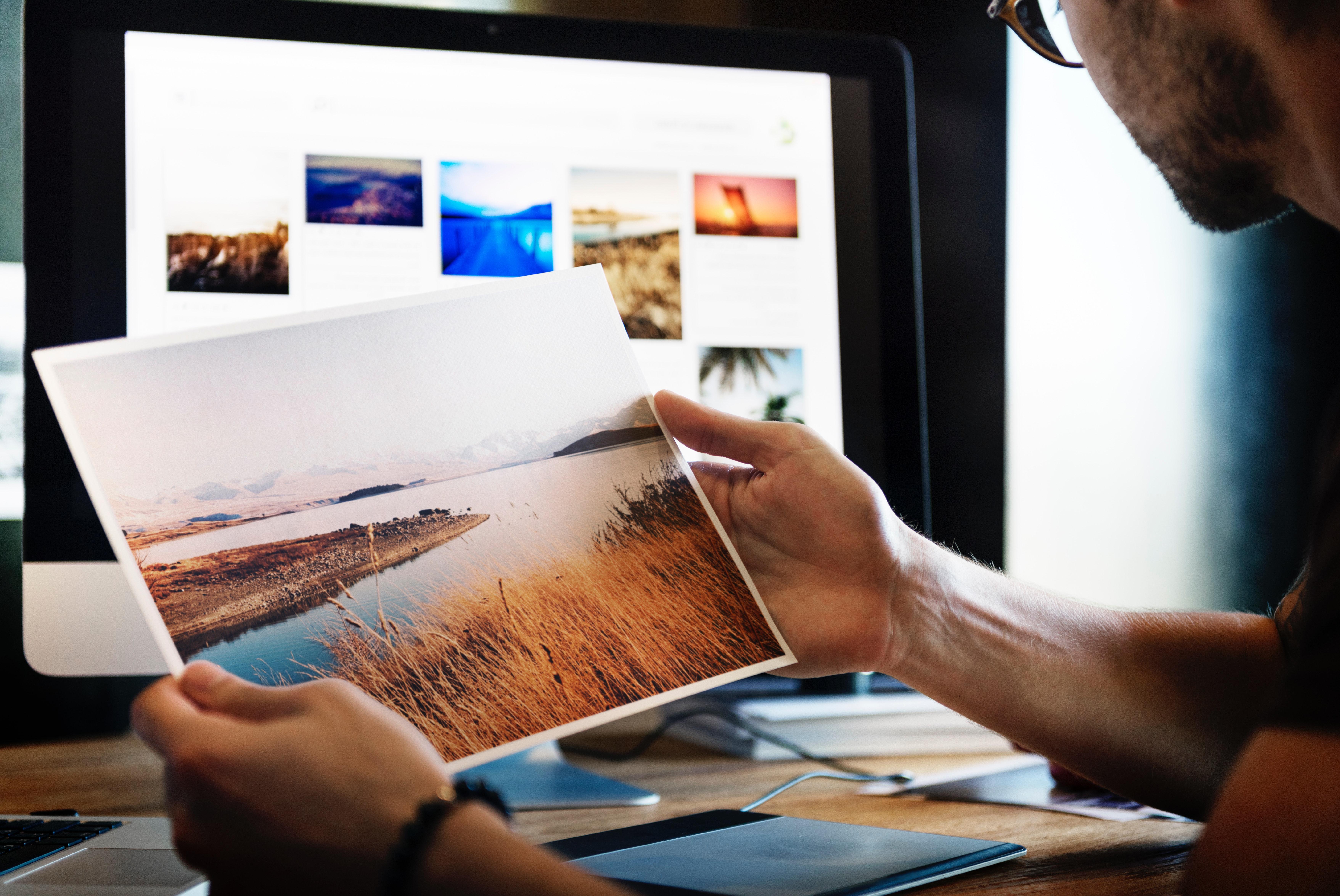 Photo hanging idea Simphome com
