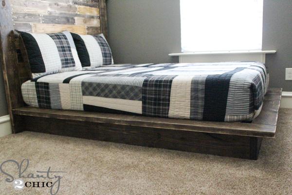 Platform Bed Plans simphome com