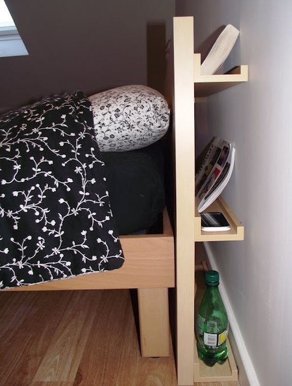 Wooden Crate Headboard with extra hidden space Simphome com 10