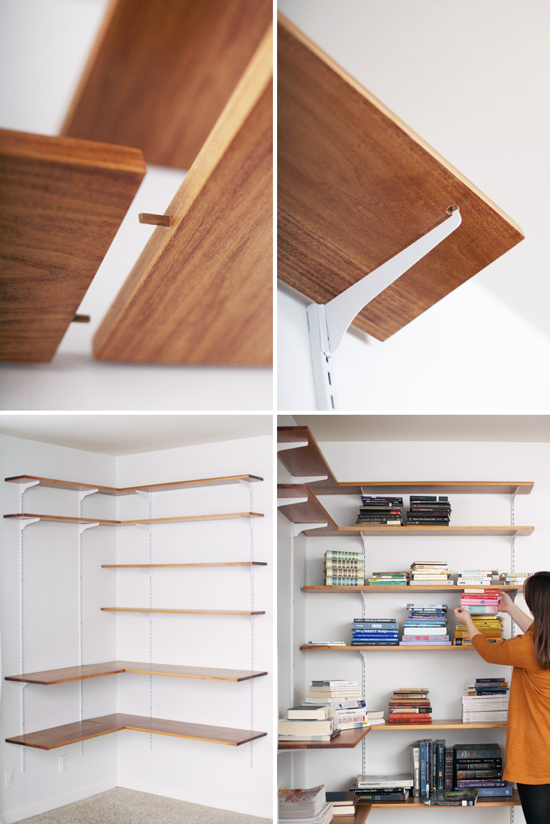 11 Build hanging corner shelf Simphome com