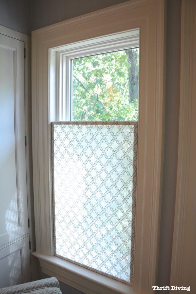 13 How to Make a Pretty DIY Window Privacy Screen Simphome com