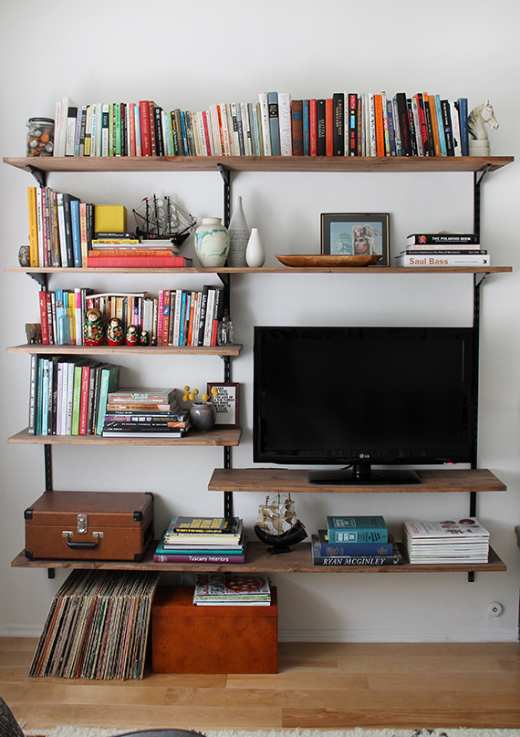 15 DIY MOUNTED SHELVING by almostmakesperfect Simphome com