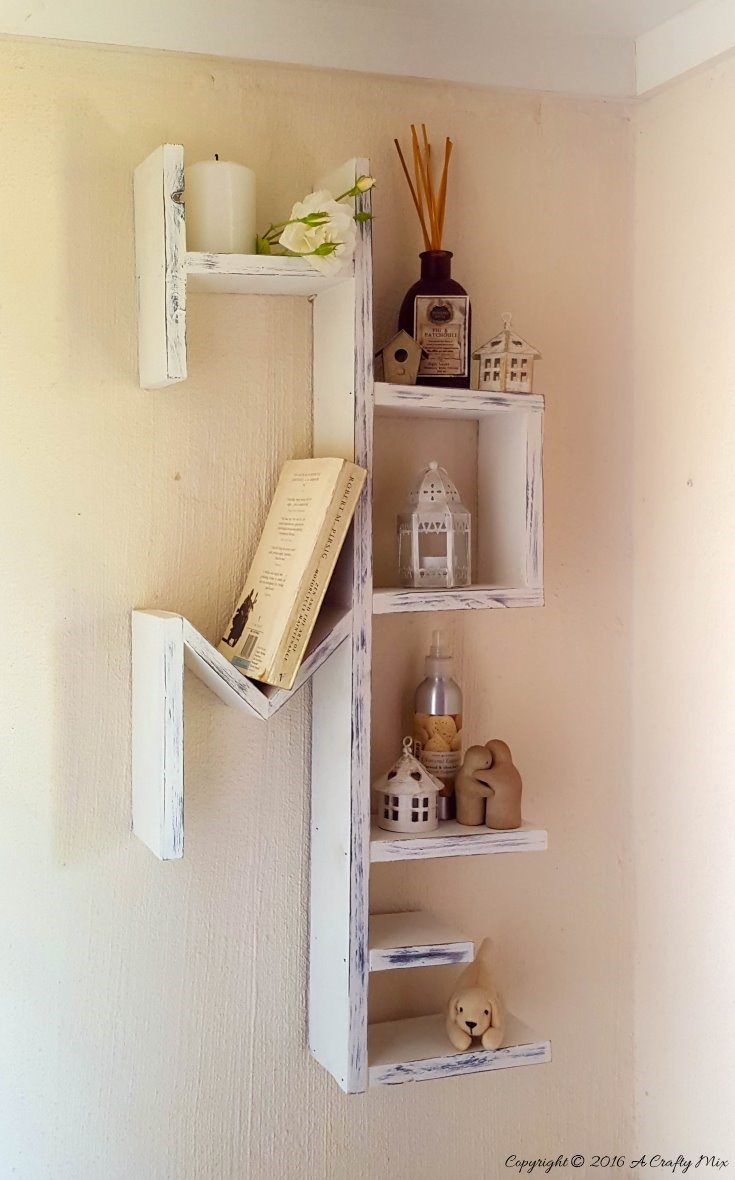 19 Custom DIY pallet HOME shelf Simphome com