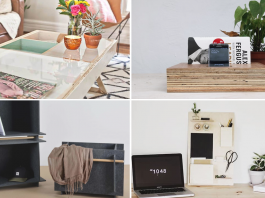 22 Useful Organizing Inspiration for Anyone Living in a Small Space via Simphome featured blog