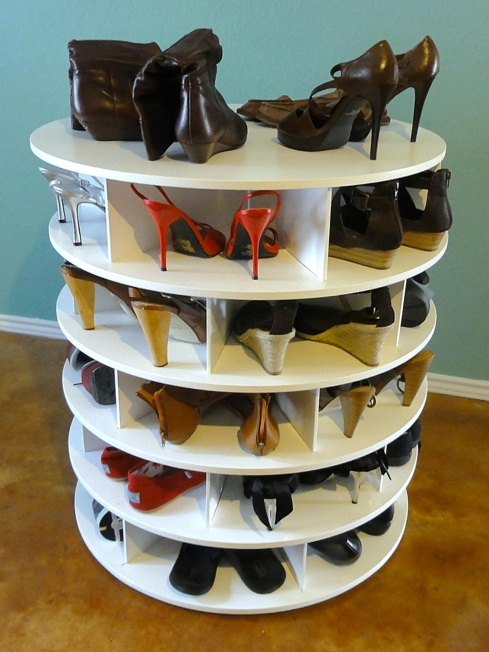 3 Rotating Shoe Rack Simphome com
