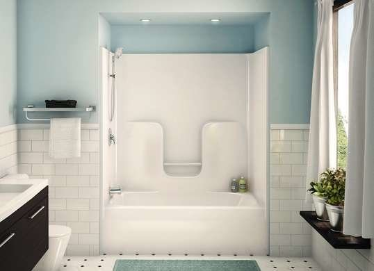 3 Consider Installing Prefabricated Shower and Tub Simphome com