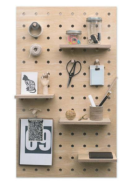 3 Wooden Pegboard idea Simphome com