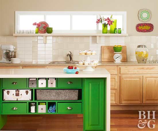 4 Fresh Green for Fresh Mind idea via Simphome com