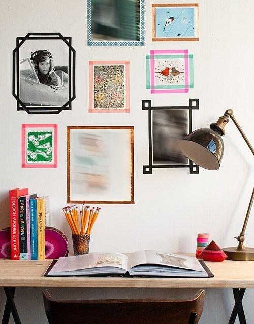 4 Colorful photo frame Simphome com