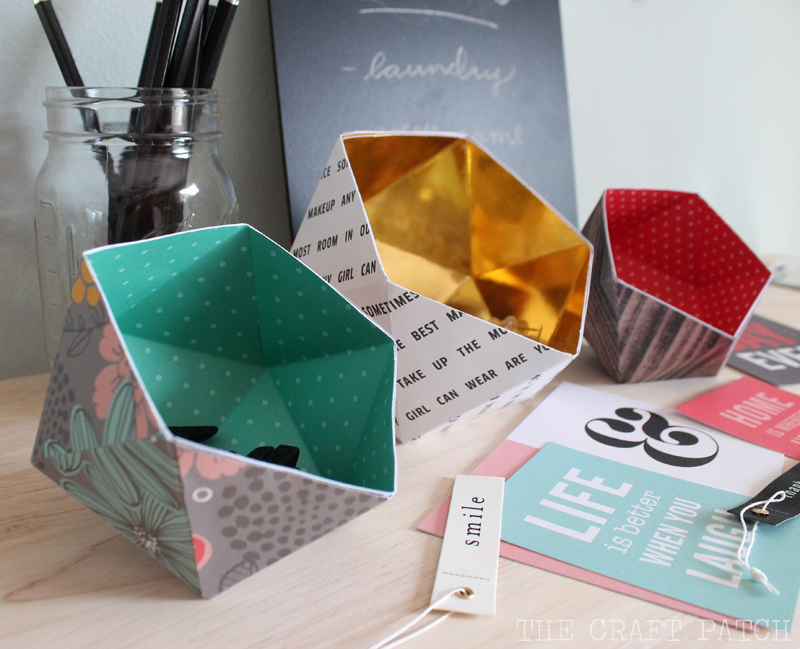 4 DIY Geometric Bowls Simphome com