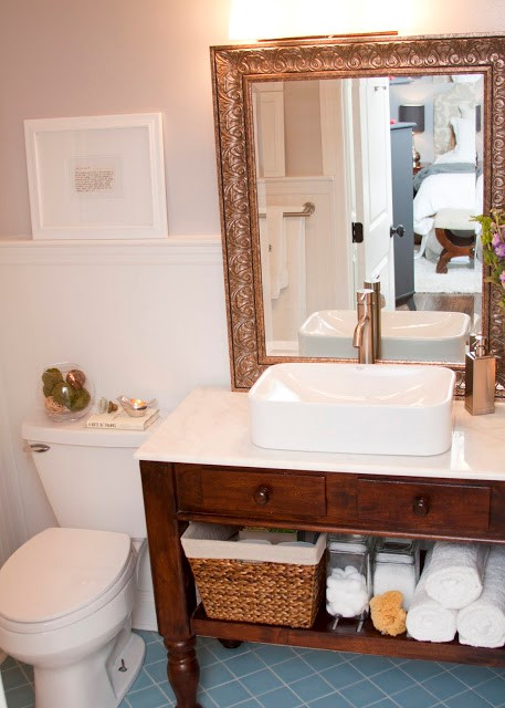 5 Cheap Master Bathroom Makeover by Just a touch of Gray Simphome com