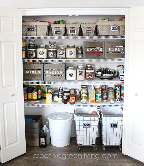 6 Modern Farmhouse Pantry Ideas Simphome com jpg