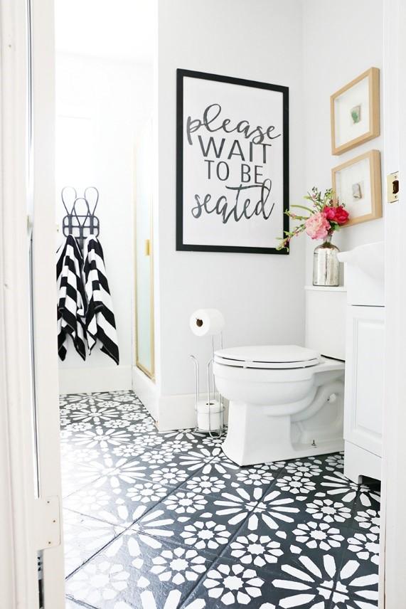 6 Stencil Tile Floor idea Simphome com