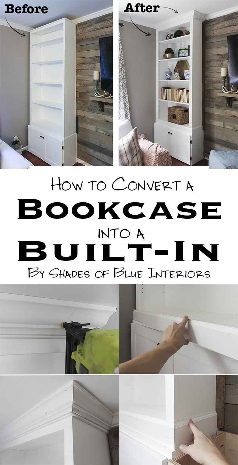 8 Convert Bookcases into Built Ins Simphome com