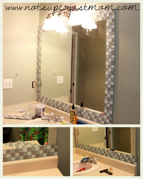 8 A Mirror with Mosaic Frame Simphome com
