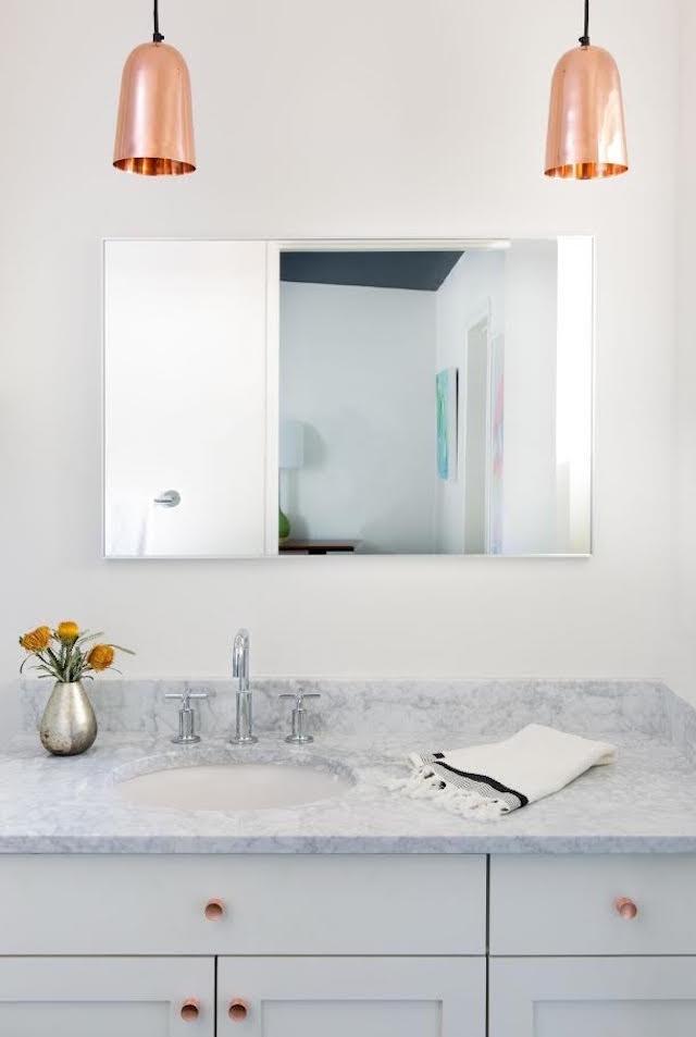 8 Add Copper Accents for More Stylish bathroom Simphome com