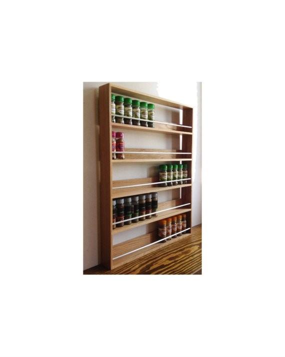 8 DIY Wooden Spice Rack idea Simphome com