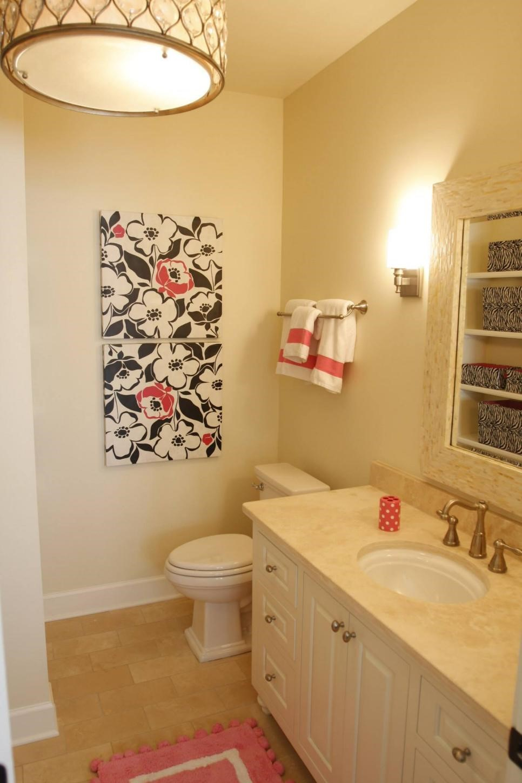 10 Small Bathroom ideas on a Budget - Simphome