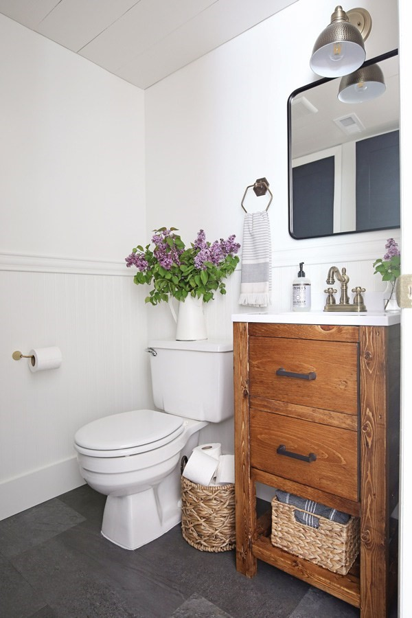9 DIY Bathroom Remodel by Angela Marie Made Simphome com