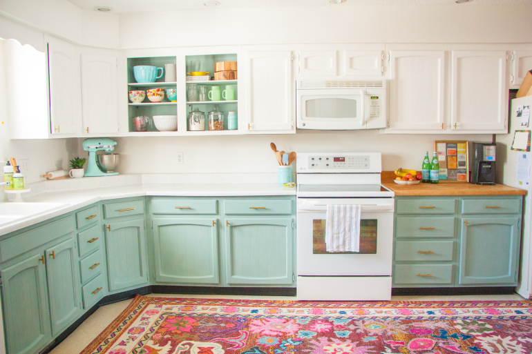 Colorful kitchen Simphome com 2