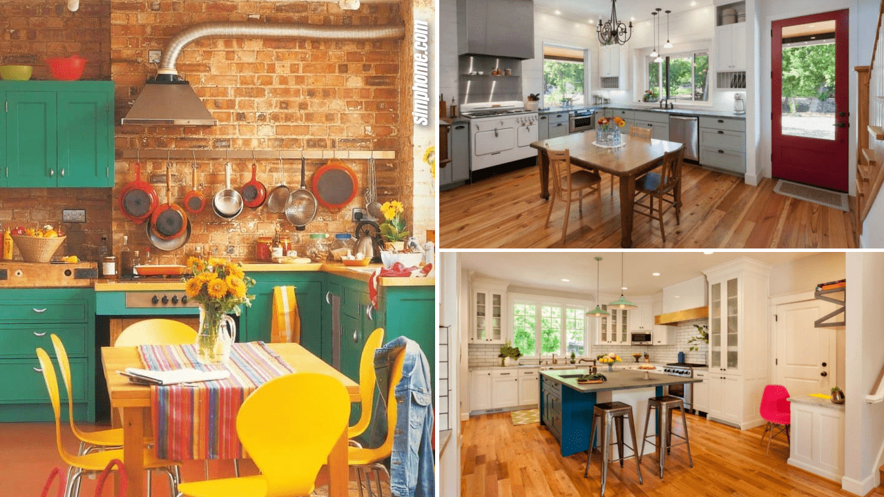 Simphome.com 10 Colorful Decor Kitchen Ideas That could Jazz Up your Space