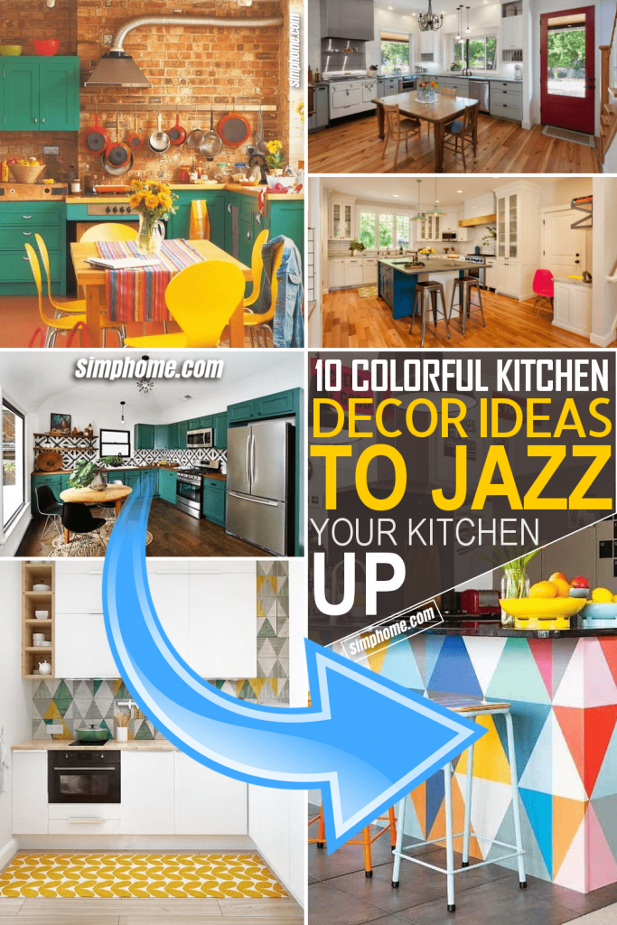 Simphome.com 10 Colorful Kitchen Decor Ideas that could Jazz Your Kitchen Up