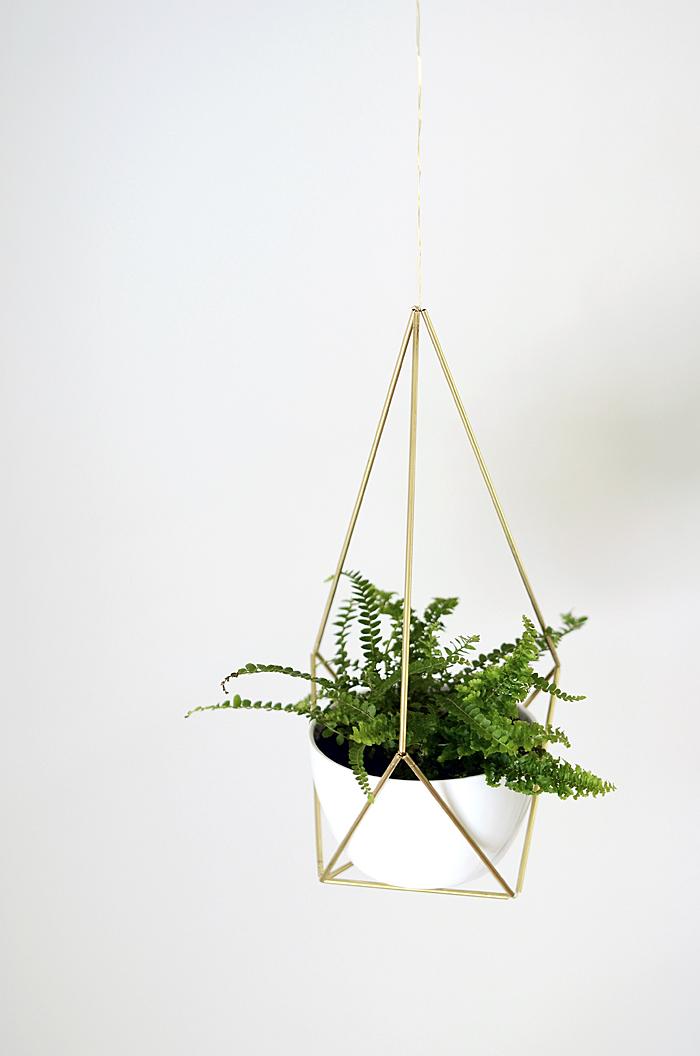 09 DIY Brass Himmeli Hanging Planter Simphome com