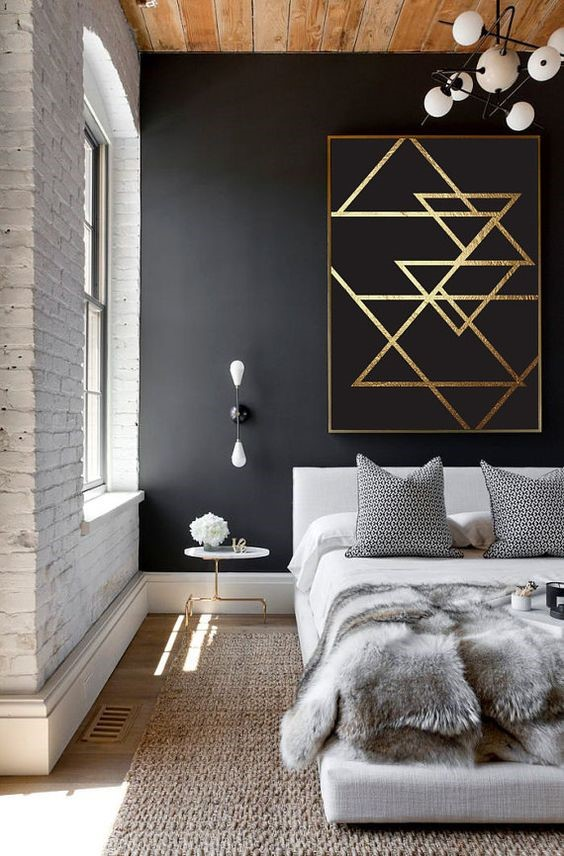 1 Black and White Eclectic Style Simphome com