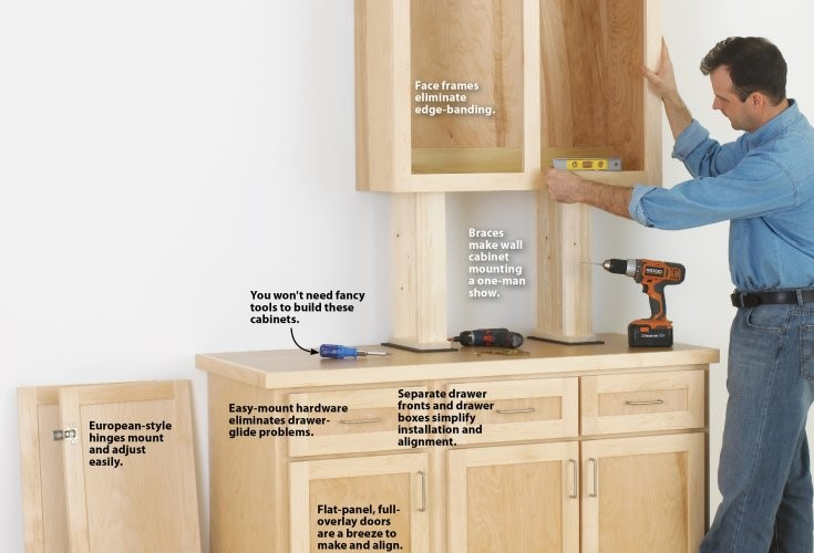 1 Make Your Own Wooden Cabinets by woodmagazine Simphome com