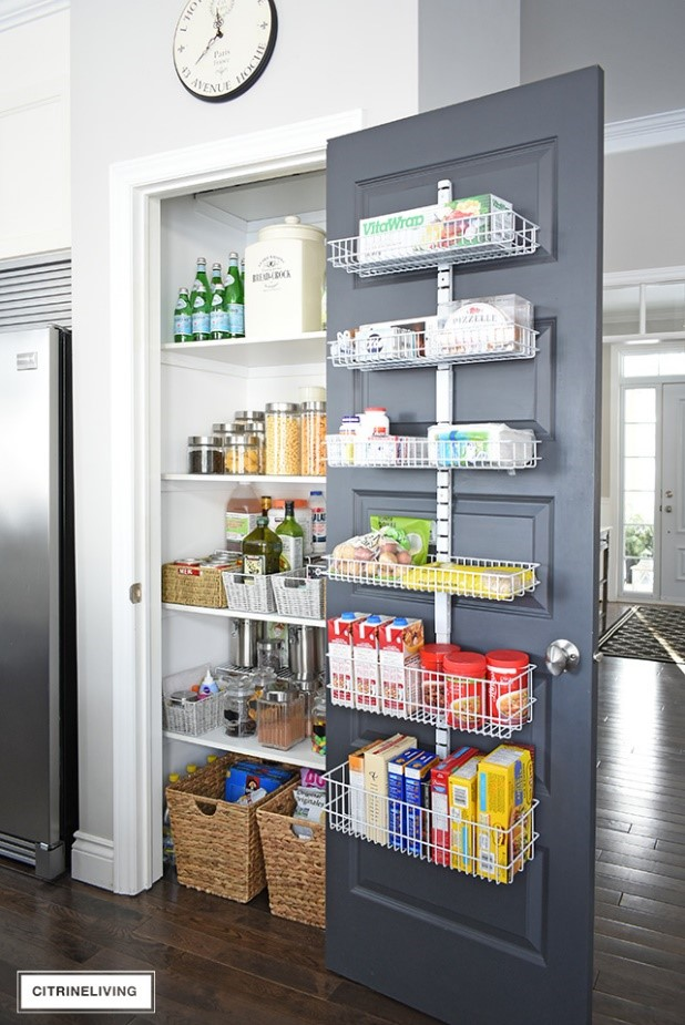 10 Kitchen Pantry Makeover Simphome com