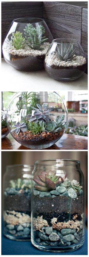 14 DIY fish bowl terrarium Simphome com