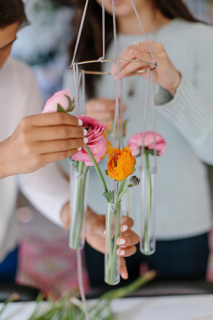 15 DIY Test Tube Vase Chandelier Simphome com