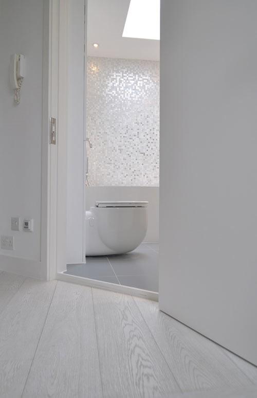 2 White Mosaic Tile Bathroom Simphome com