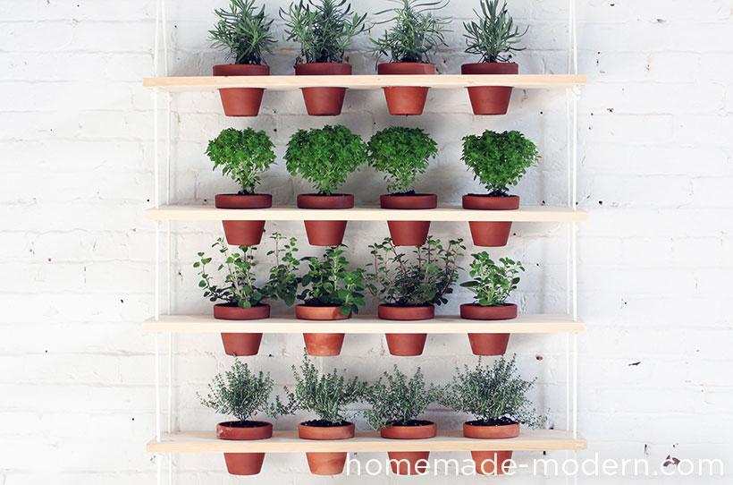 20 DIY Hanging garden by Homemade modern Simphome com