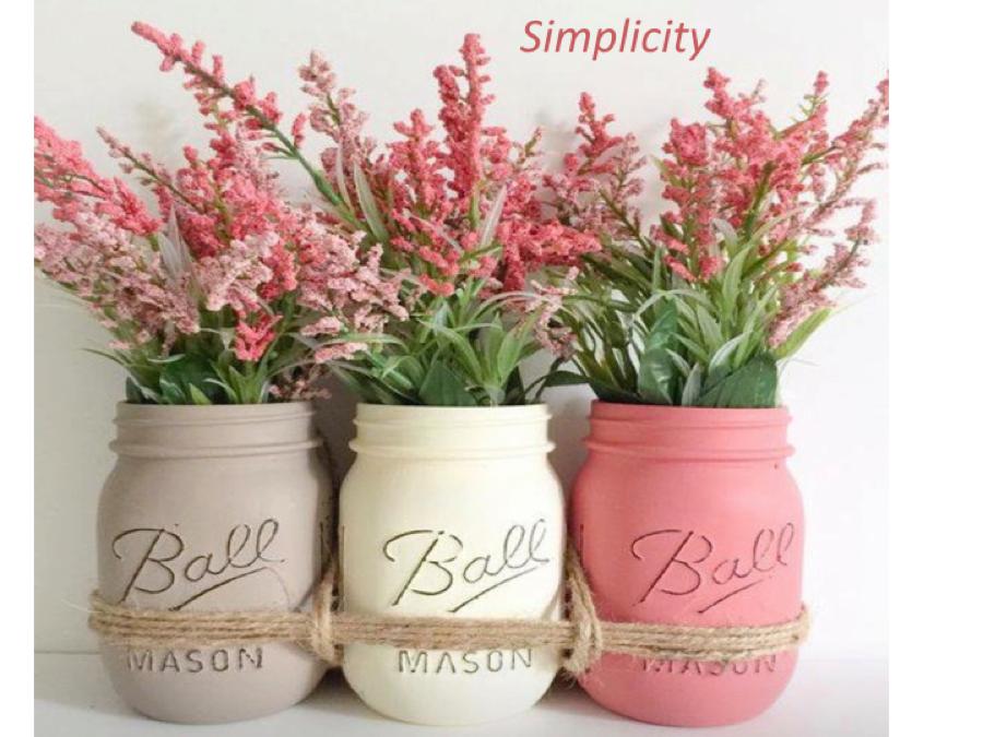 24 Vintage Flower Vase via simphome com