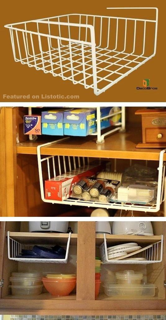 3 Hanging Shelf Organizer Simphome com