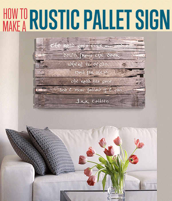 3 Pallet Wood Wall Art Sign Simphome com jpg