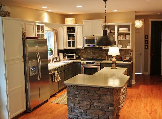 4 An Elegant Kitchen Island idea Simphome com