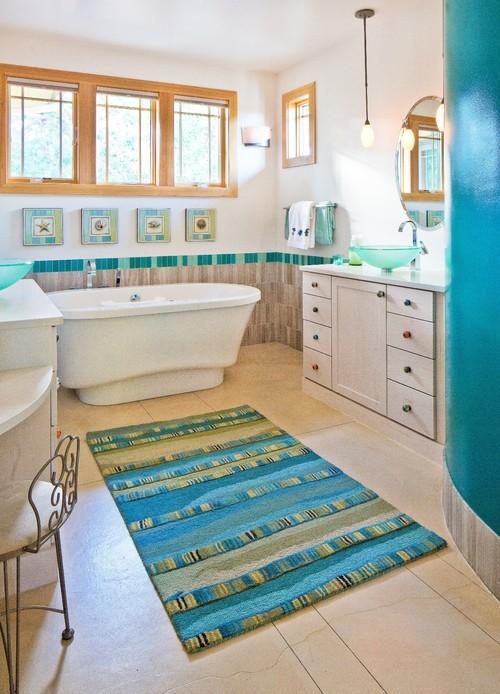4 Blue Ocean Bathroom Simphome com