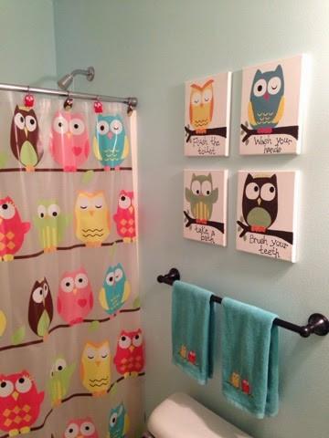 5 Cute Owl décor ideas for Kids Bathroom Simphome com