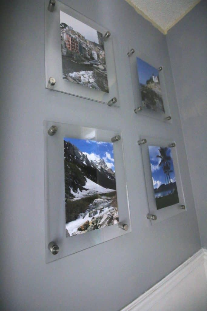 5 DIY Wall Mounted Acrylic Frame Gallery Wall Simphome com