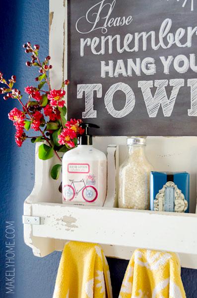 5 Accessories Towel Rack Simphome com
